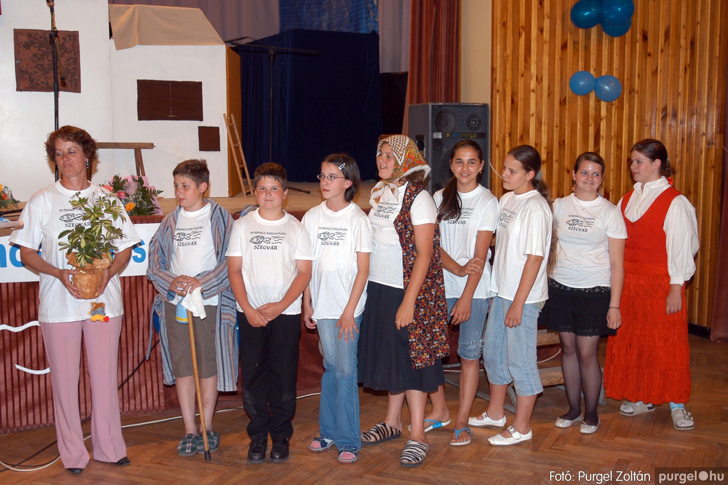 2007.06.30. 030 Szegváriak Szegvárért Közösségfejlesztők