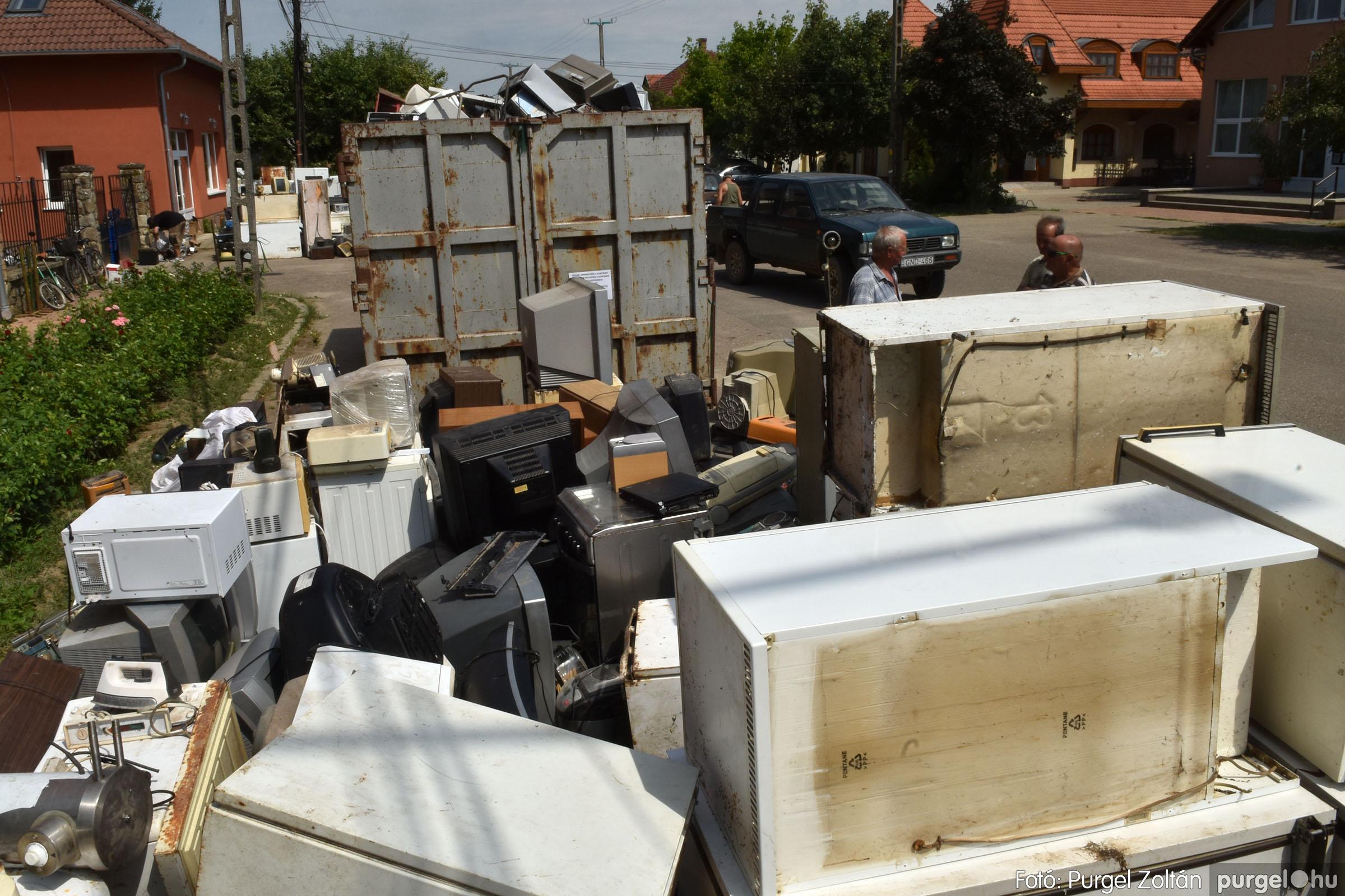 2021.08.01. 007 Elektronikai hulladékgyűjtés – Fotó:PURGEL ZOLTÁN© DSC_8569q